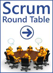 Banner Scrum Round Table