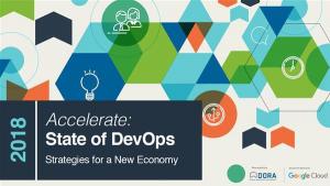 State of DevOps 2018
