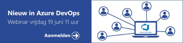 Webinar Nieuw in Azure DevOps