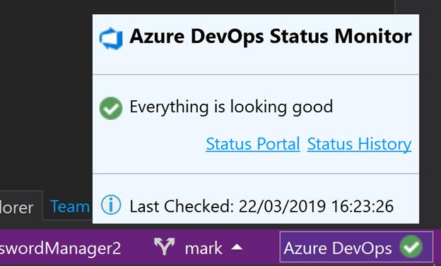 Azure DevOps Status Monitor