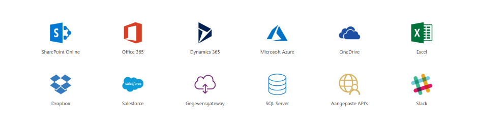 PowerApps Connectoren
