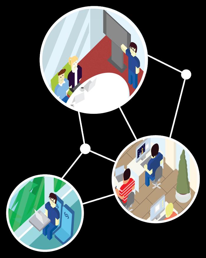 De Moderne werkplek zorgt voor goede digitale samenwerking