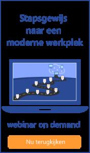 Webinar stapsgewijs naar een moderne werkplek