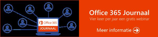 Office 365 Journaal