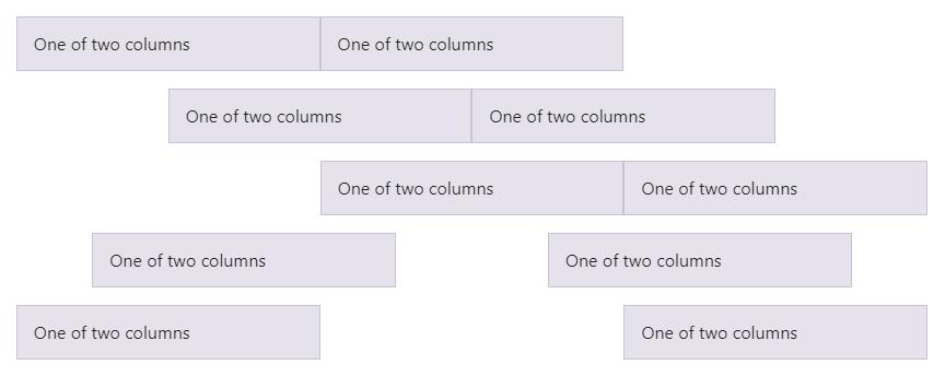 Bootstrap rijen en kolommen (flexbox)