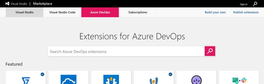 Visual Studio Marketplace - Azure DevOps extensions