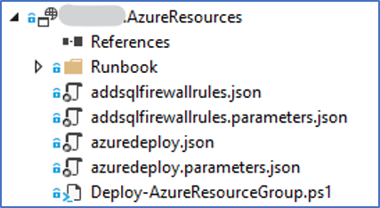 Visual Studio: Azure Resource Group project met ARM templates