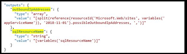 Automatisch instellen appservice IP nummers in Azure SQL firewall bij een release