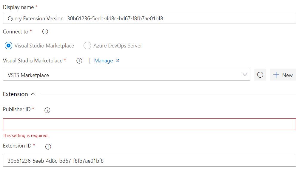 Zelf een Azure Devops Custom Extension bouwen