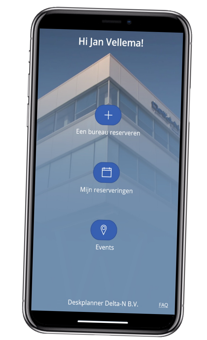 DeskPlanner App
