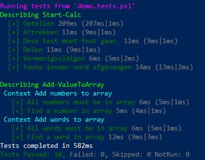 Pester – Het test framework voor PowerShell