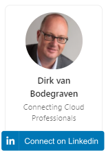 Connecting Dirk on Linkedin